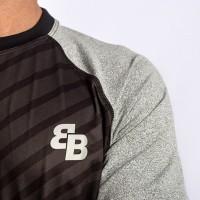 Camiseta BB Flex Negro Gris - Barata Oferta Outlet