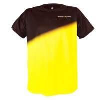 Camiseta Black Crown Tour Negro Amarillo - Barata Oferta Outlet