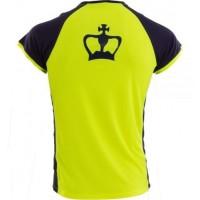 Camiseta Black Crown X5 Amarillo Marino Junior - Barata Oferta Outlet