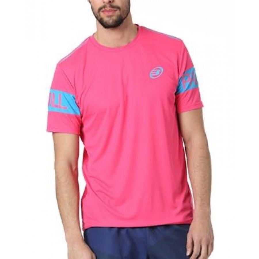 Camiseta Bullpadel Chumber Fresa Acida - Barata Oferta Outlet