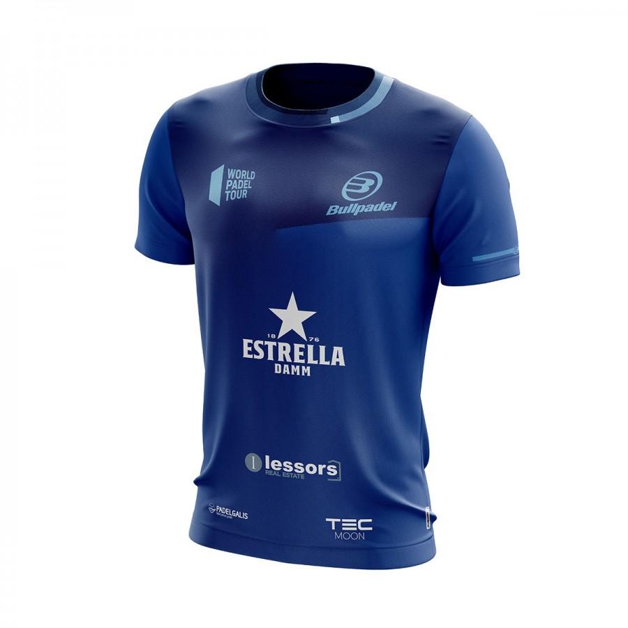 Camiseta Bullpadel Maxi Sanchez Jano Azul Tinta 2019 II - Barata Oferta Outlet