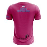 Camiseta Bullpadel Maxi Sanchez WPT Tanos Fresa 2019 - Barata Oferta Outlet