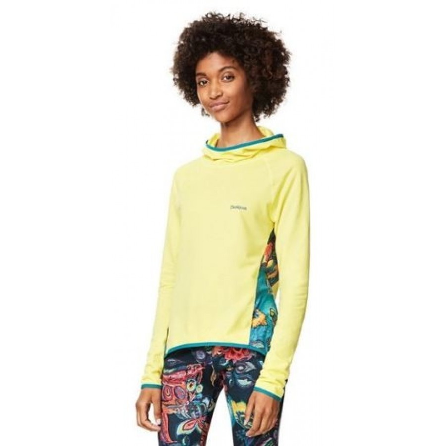 Camiseta Desigual Long SL Galactic Bloom - Barata Oferta Outlet