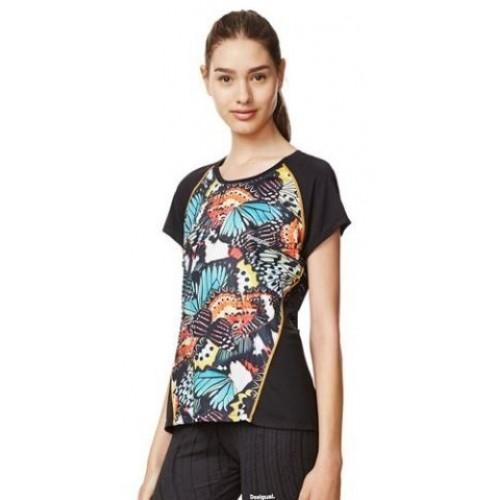 Camiseta Desigual Tee Training Metamorphosis - Barata Oferta Outlet