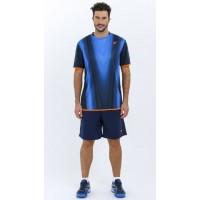 Camiseta Drop Shot Basai Azul - Barata Oferta Outlet