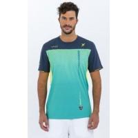 Camiseta Drop Shot Electro Verde - Barata Oferta Outlet