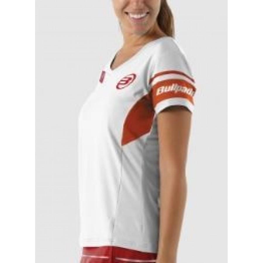 Camiseta Novoa Blanco 012 Montecarlo Bullpadel - Barata Oferta Outlet