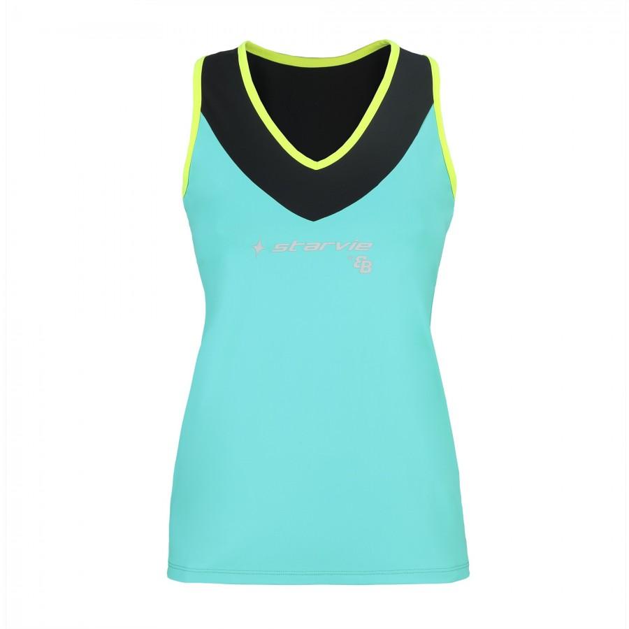 Camiseta StarVie Energy Cielo Amarillo By BB - Barata Oferta Outlet