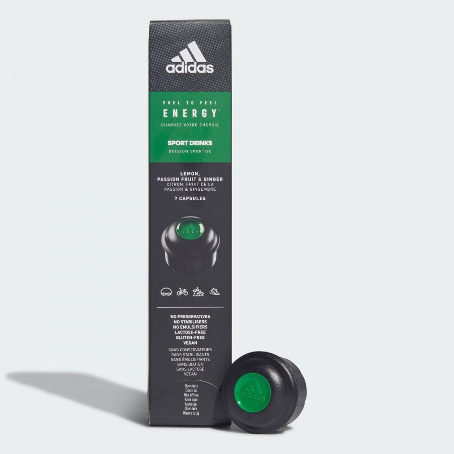 Capsulas Sport Drinks Adidas Energy 7 Uds. - Barata Oferta Outlet