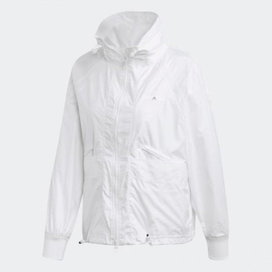 bastante agradable 3f580 1a1fc Chaqueta Adidas Stella McCartney Blanco Mujer