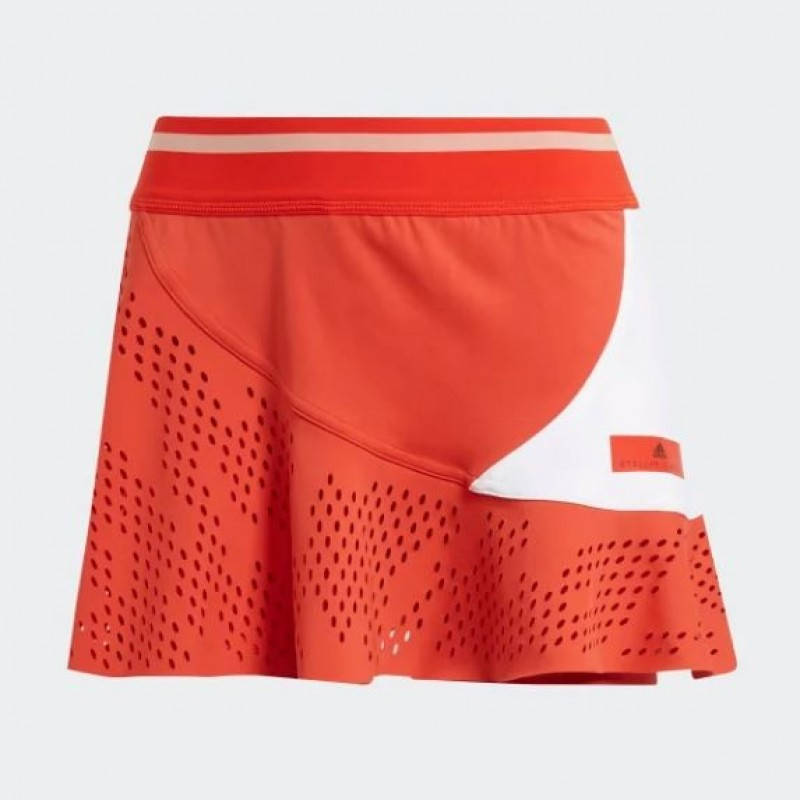Preescolar Golpe fuerte respirar  Adidas Stella McCartney Red Skirt | Padelpoint