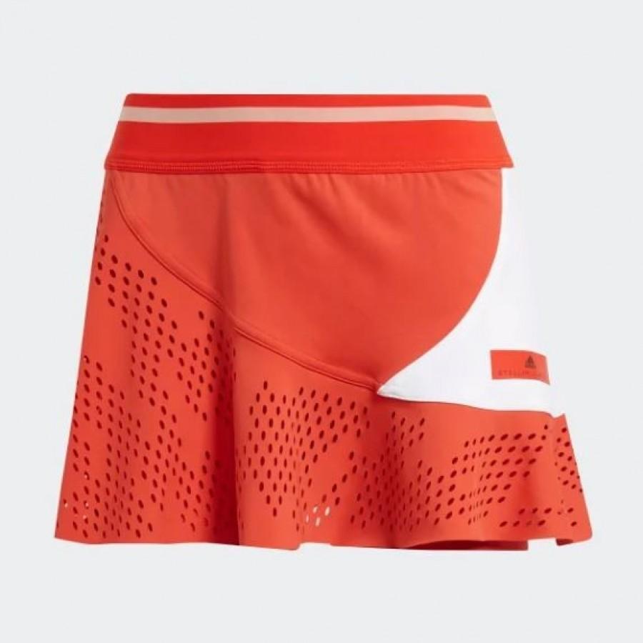 tirar a la basura Depender de El camarero  Adidas Stella McCartney Red Skirt | Padelpoint