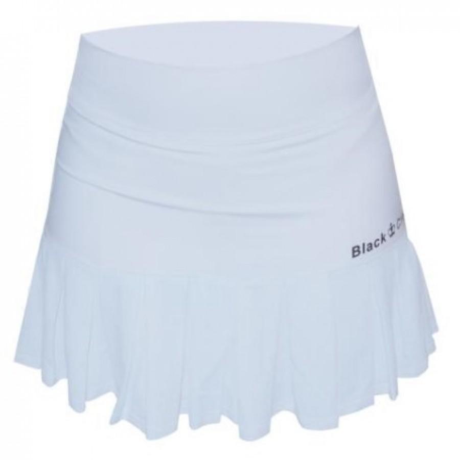Falda Black Crown Gili Blanco - Barata Oferta Outlet