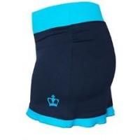 Falda Brujas Azul Marino Turquesa Black Crown - Barata Oferta Outlet