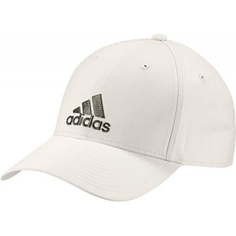 Gorra Adidas Blanco Roto Logo Caqui Mujer   Padelpoint