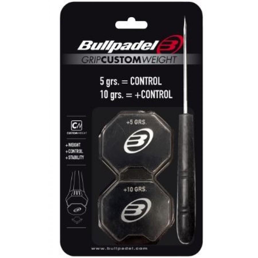 Grip Bullpadel Custom Weight Negro - Barata Oferta Outlet
