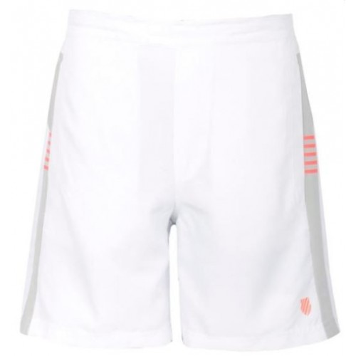 K Swiss pantaloni corti Bb gioco bianco/mercurio - Barata Oferta Outlet