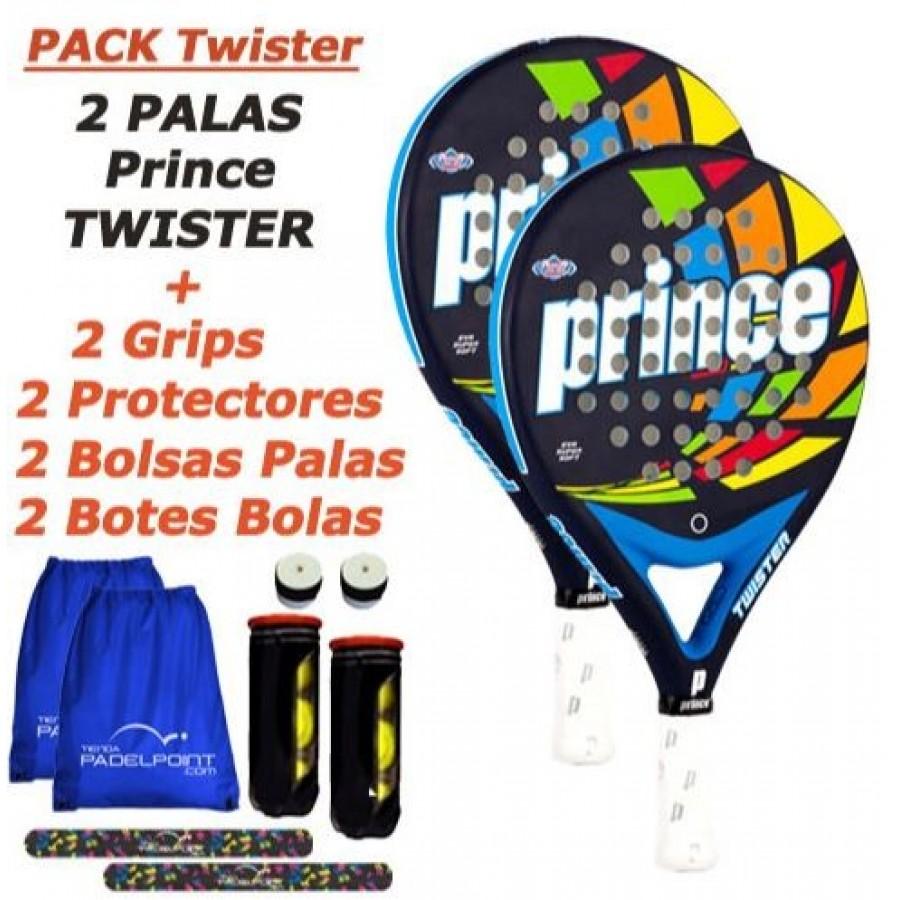 Pack Prince Twister - Barata Oferta Outlet
