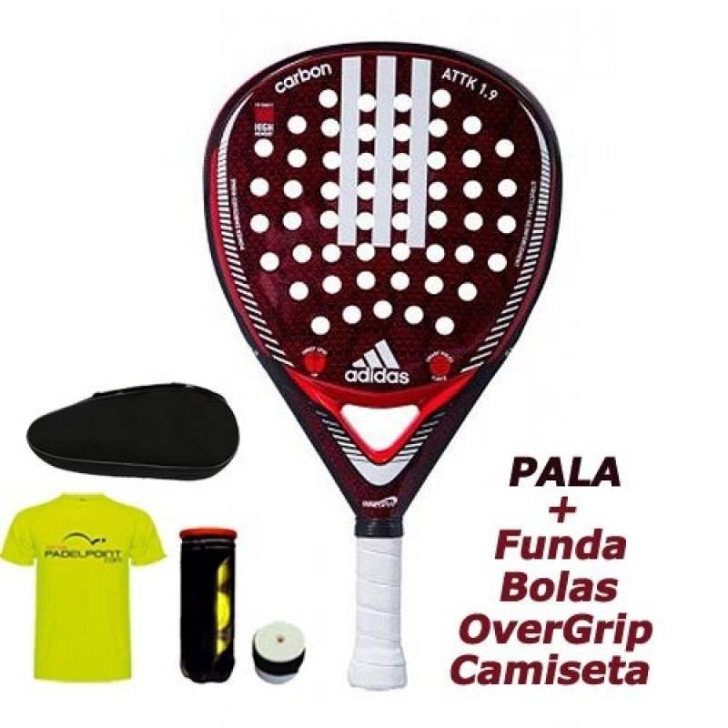 Infectar Tigre Profesión  Shovel Adidas Carbon Attack 1.9 2019 | Padelpoint