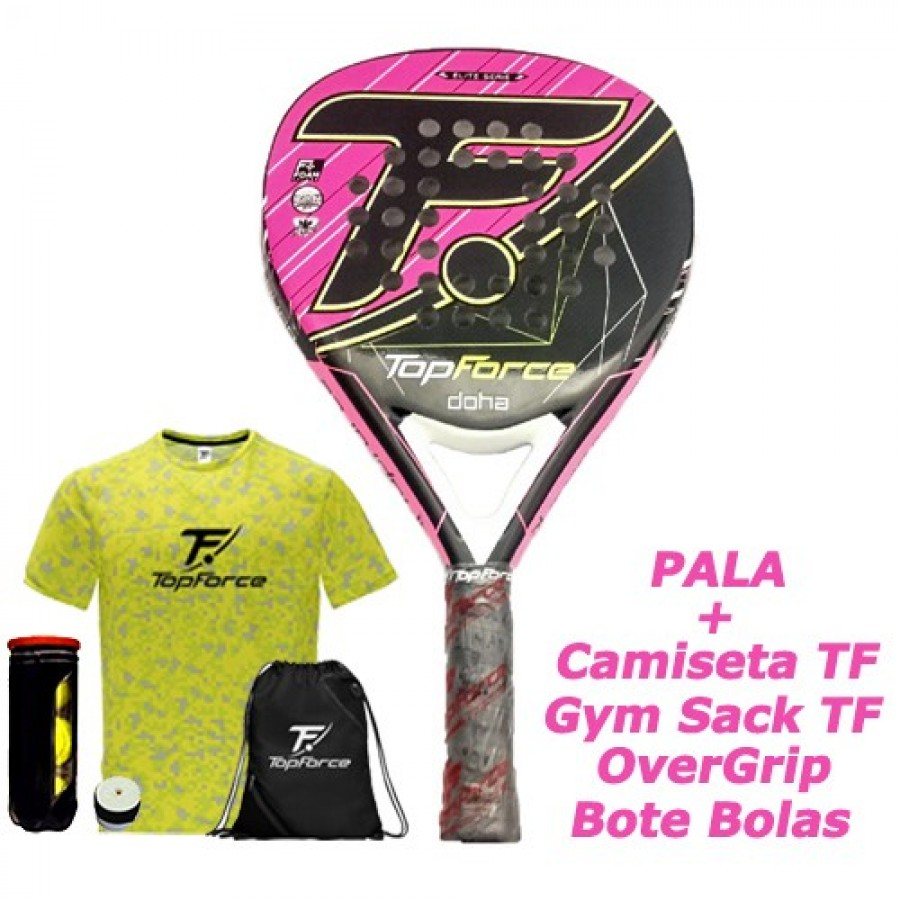 Pala Top Force Doha Foam Lady - Barata Oferta Outlet