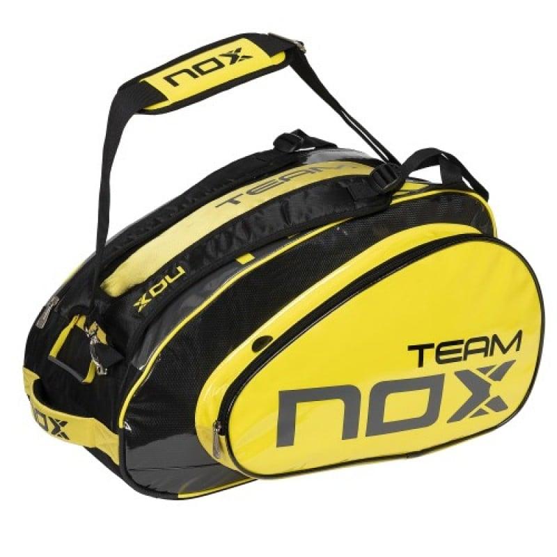Corresponsal Alargar Erudito  Paletero Nox Team yellow   Padelpoint