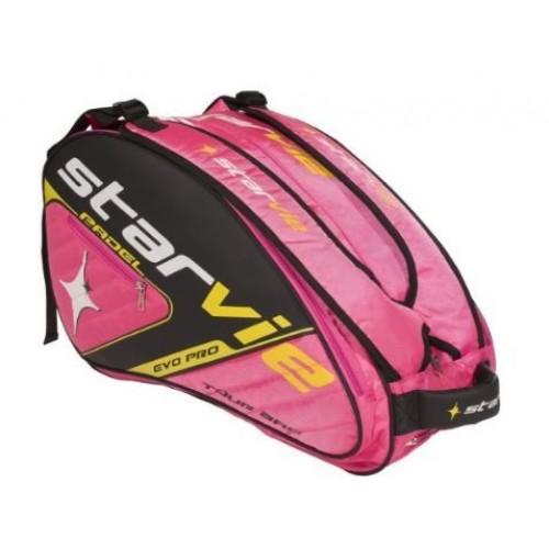 Paletero Padel Star Vie Evo Pro Pink - Barata Oferta Outlet