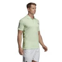 Polo Adidas Club 3 Stripes Verde - Barata Oferta Outlet