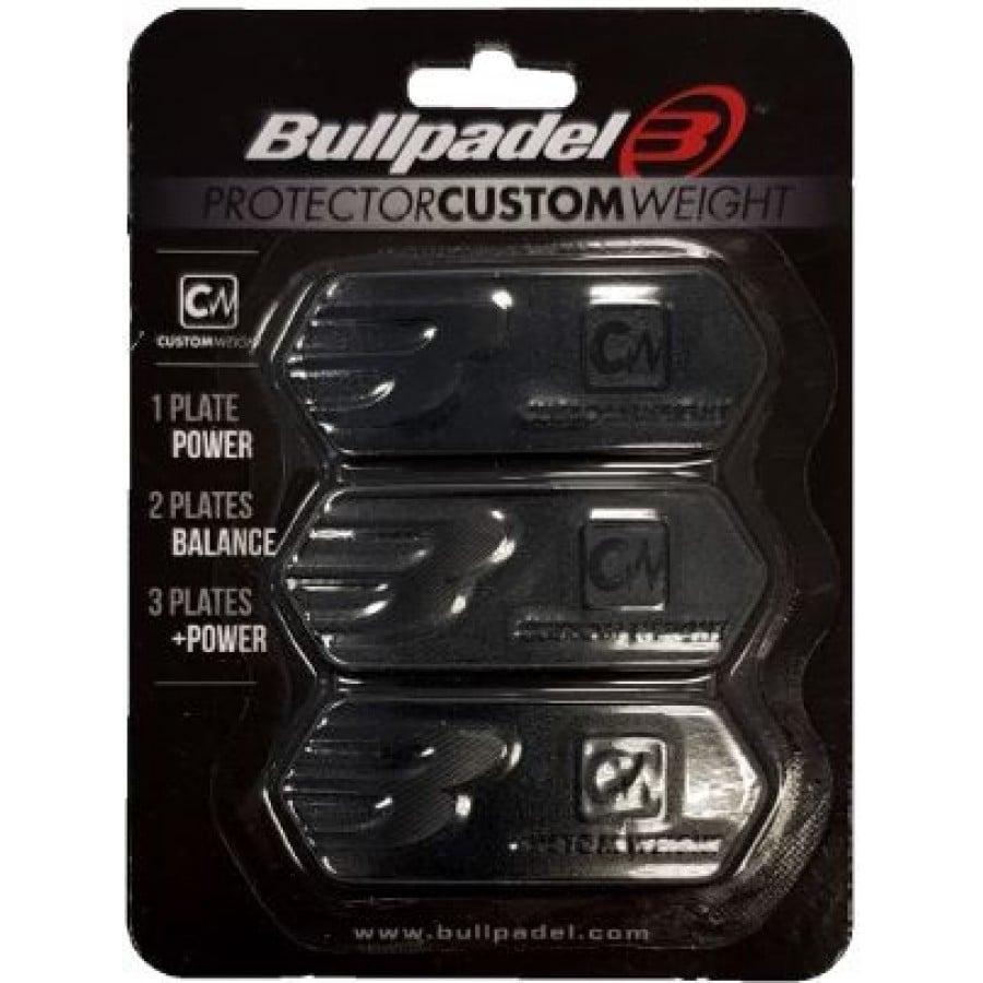 Protector Bullpadel Custom Weight Negro - Barata Oferta Outlet