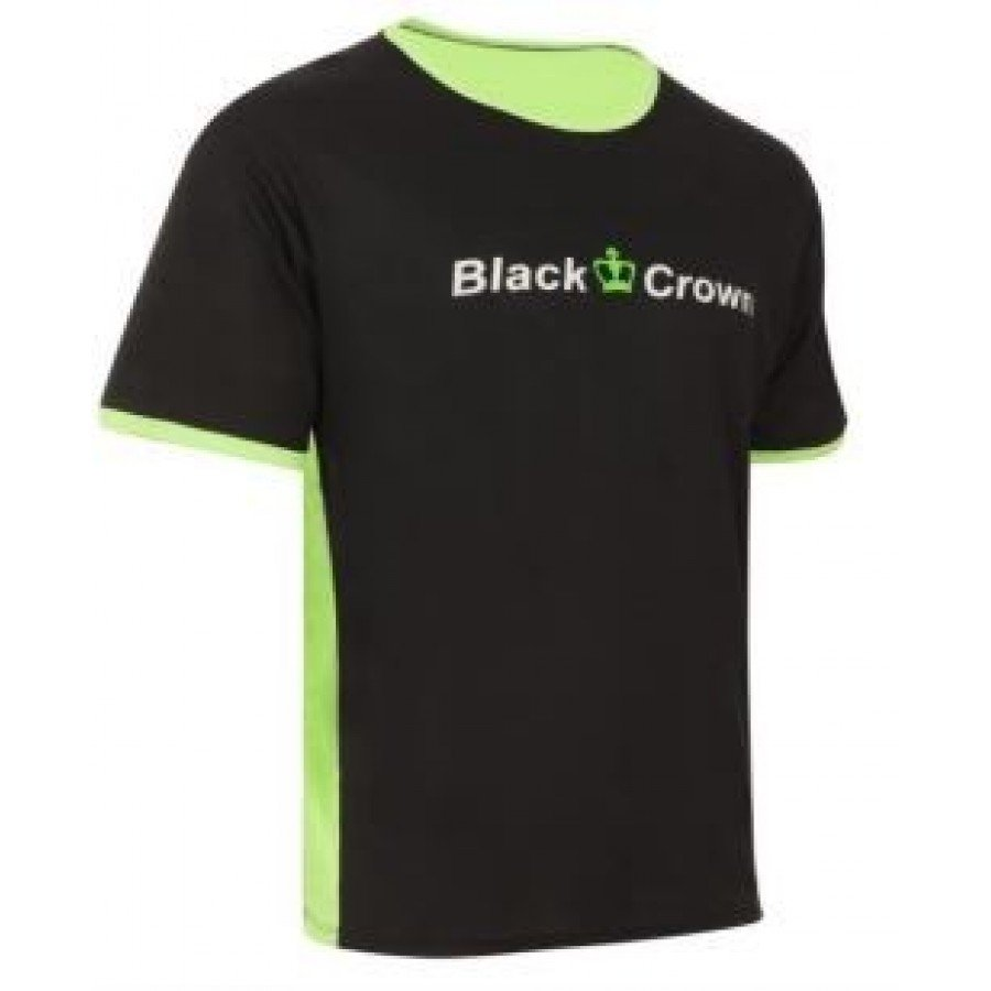ROPA DE PADEL BLACK CROWN CAMISETA LET VERDE - Barata Oferta Outlet