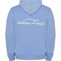 Pagaia PADELPOINT luce blu con cappuccio abbigliamento - Barata Oferta Outlet
