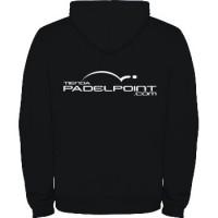 Paddle PADELPOINT Sweatshirt black woman s clothing - Barata Oferta Outlet