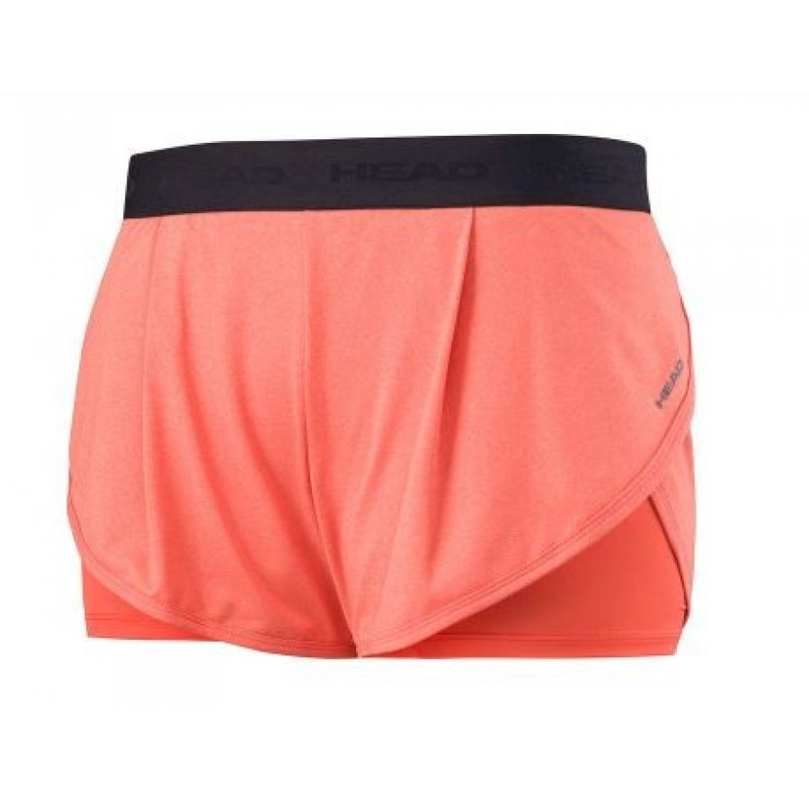 Ropa Head VISION SHORT W orange - Barata Oferta Outlet