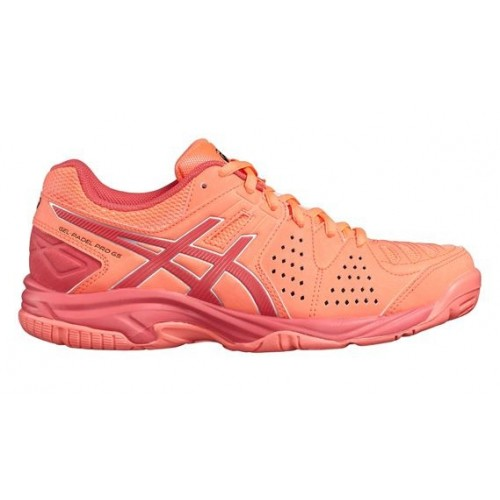 cab6c82c92cd7 -10% + Regalos ZAPATILLA DE PADEL ASICS GEL PADEL PRO 3 GS JR Flash Coral -  Barata Oferta Outlet