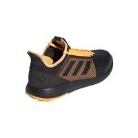 Zapatillas Adidas Defiant Bounce 2 Negro Naranja - Barata Oferta Outlet