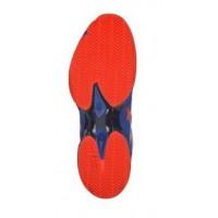 Zapatillas Asics Gel Lima Padel 2 Azul Rojo Fuego - Barata Oferta Outlet