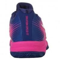 Zapatillas Asics Solution Speed FF Clay Pink Glo White - Barata Oferta Outlet