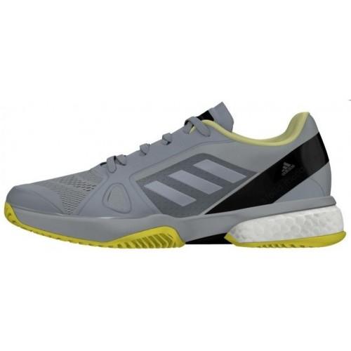 -15% Scarpe da ginnastica Adidas ASMC pagaia Barricade Boost 2018 Stella McCartney grigio/giallo - Barata