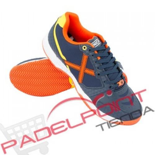 Pagaia scarpe di blocco arancione scure Monaco di Baviera