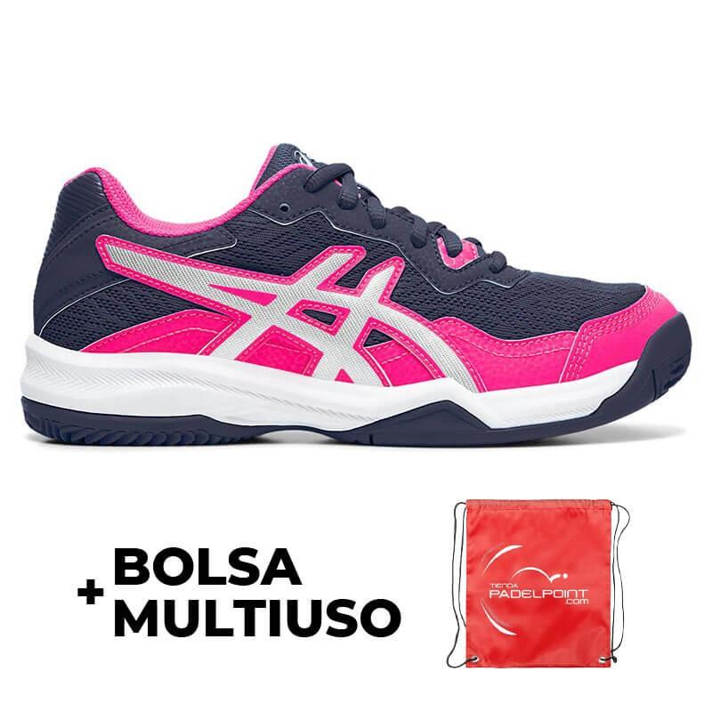 Zapatillas Asics Gel Padel Pro 4 GS Peacoat Blanco Junior | Oferta + Barato